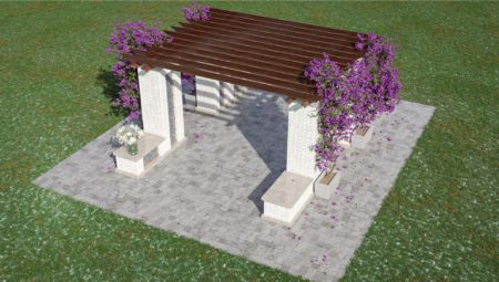 Niche Pergolas Base Option 1