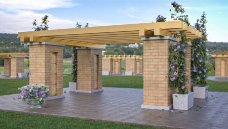 Niche Pergolas Base Option 8