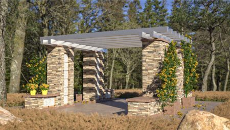 Niche Pergolas Base Option 5